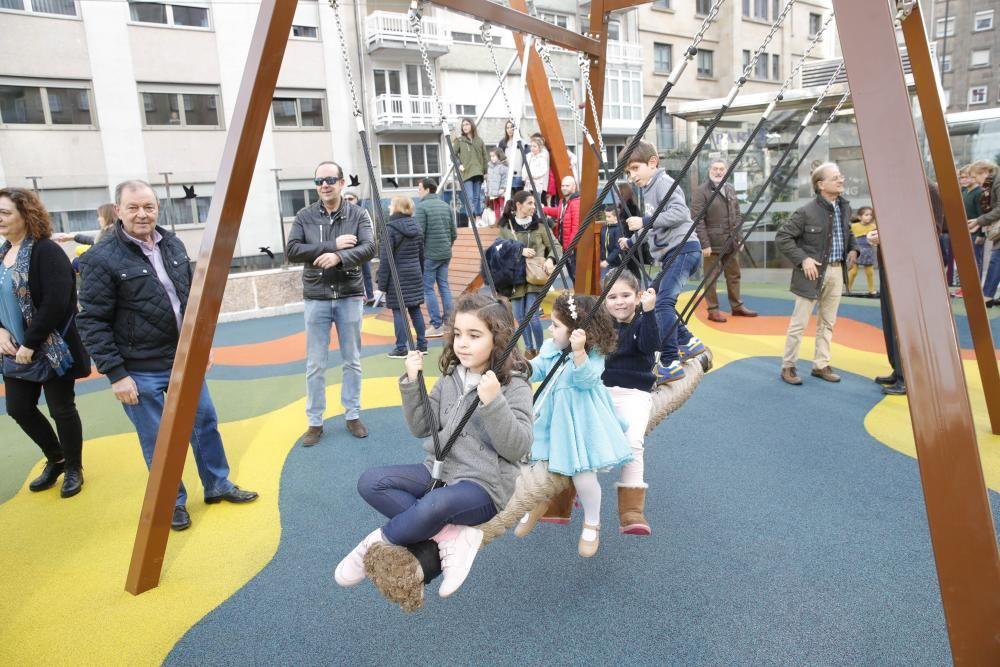 Así es el nuevo 'macroparque' infantil de Vigo.