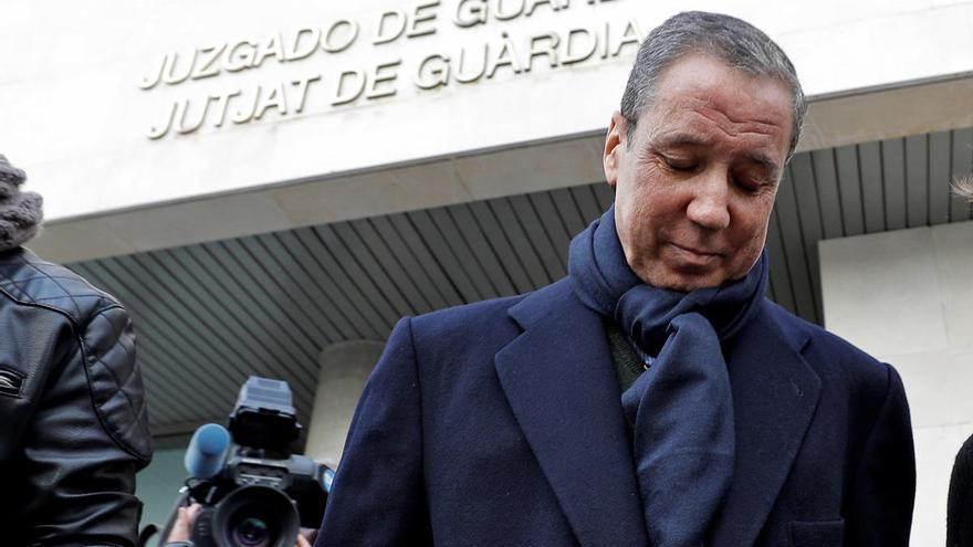Eduardo Zaplana pide que lo eximan de ir al juzgado de guardia para evitar contagios
