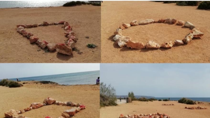 Cort aclara que los círculos de piedras de es Carnatge forman parte de un plan piloto de reforestación