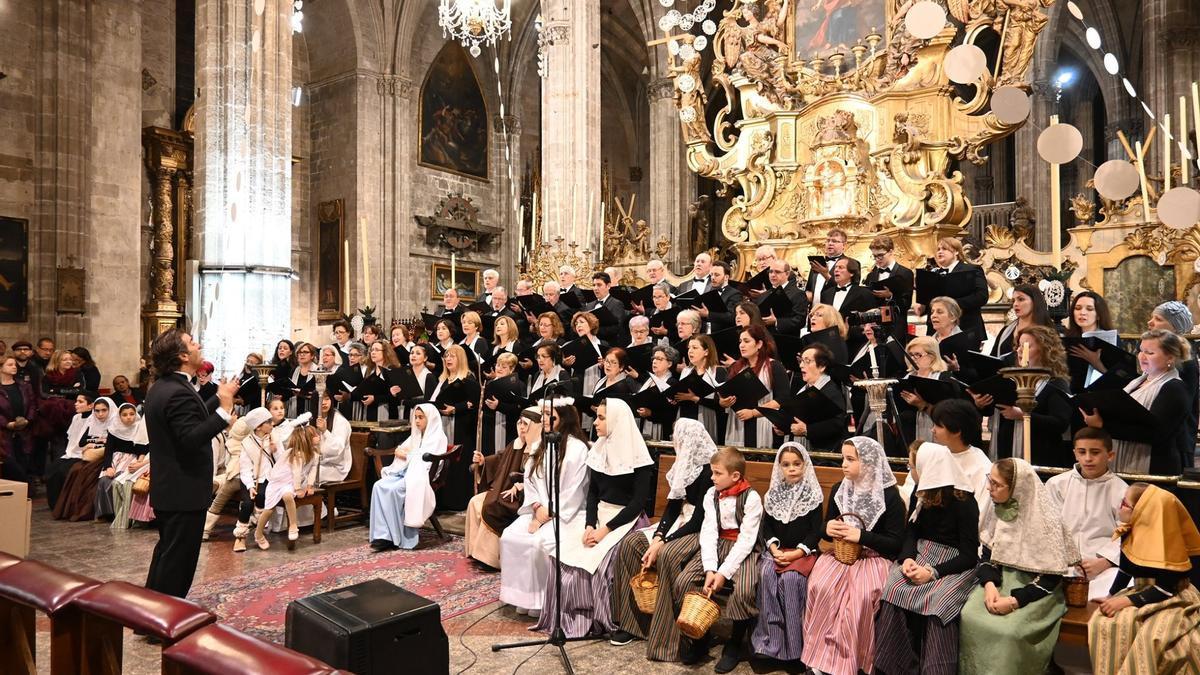 Imagen de archivo del concierto de la Capella Mallorquina.