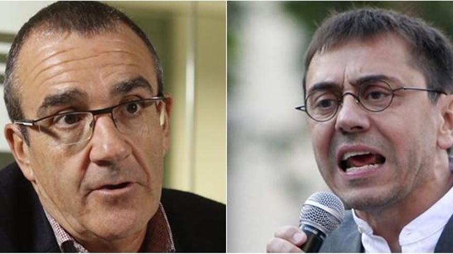 Yllanes, de Podemos, acusa a Monedero de amenazarle