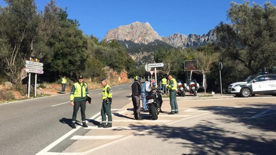 Behörden kontrollieren Motorrad-Lärm in der Tramuntana