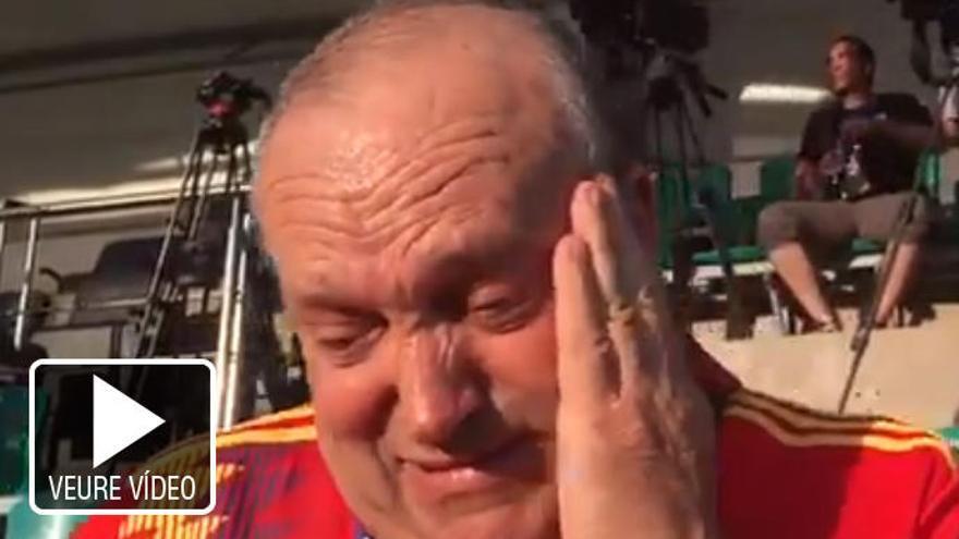VÍDEO | «Manolo el del Bombo» demana ajuda a Pedro Sánchez entre llàgrimes