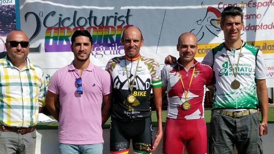 Luis Anderson Prieto gana la prueba de la Copa España de Aguilas