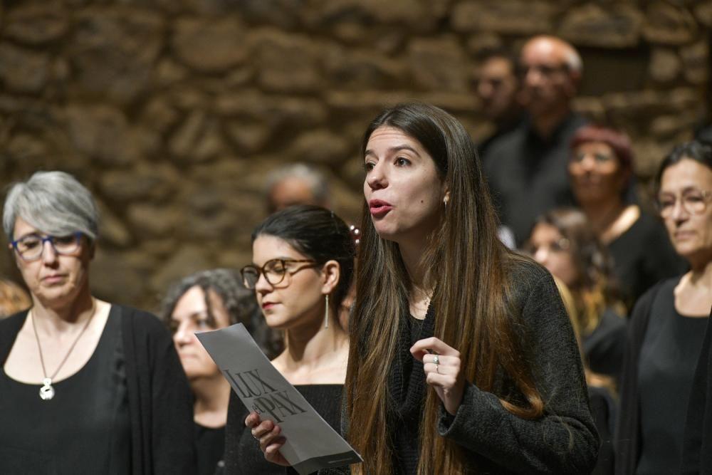 Concert Lux et Pax de la Coral Escriny