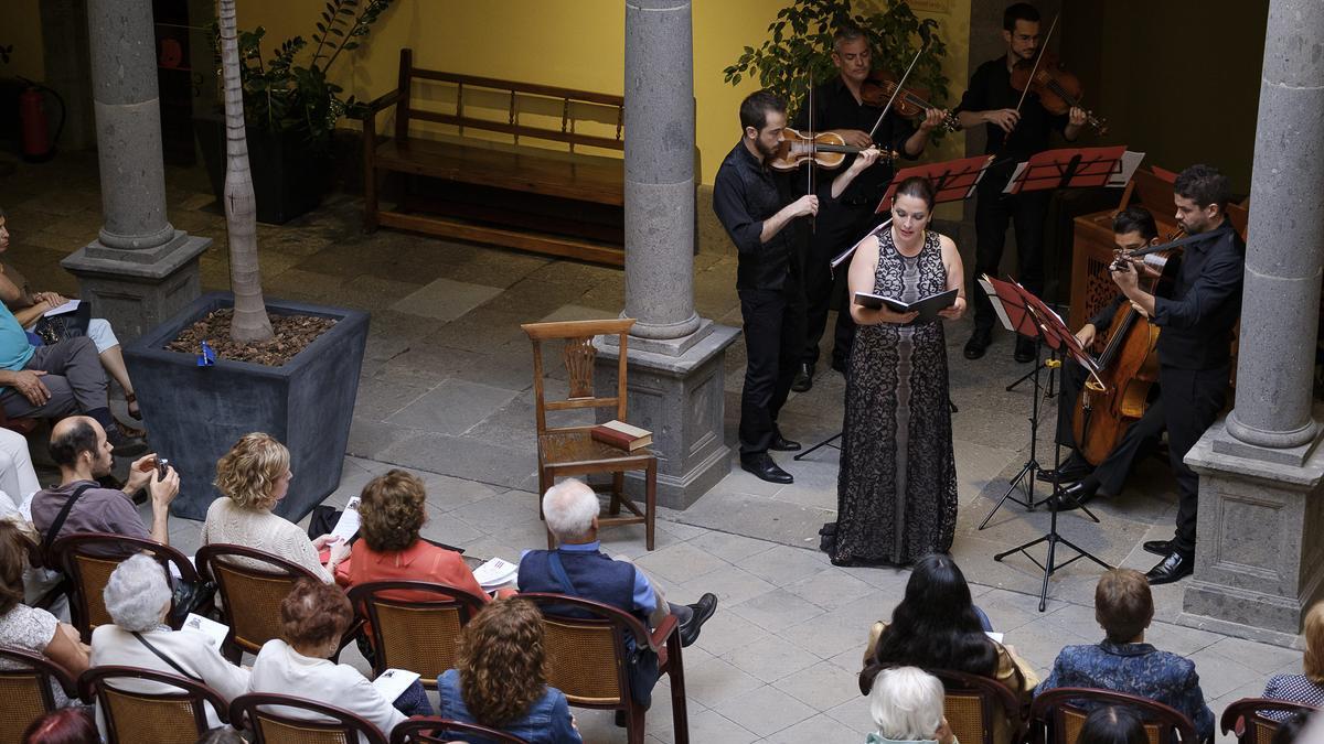 La soprano Estefanía Perdomo.