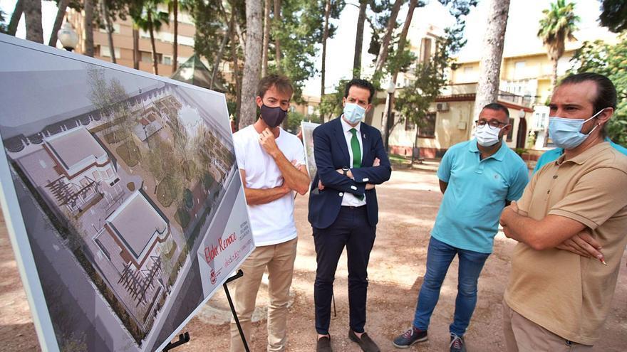 Elda reformará el Jardín de la Música tras cinco años cerrado a la espera de la obra