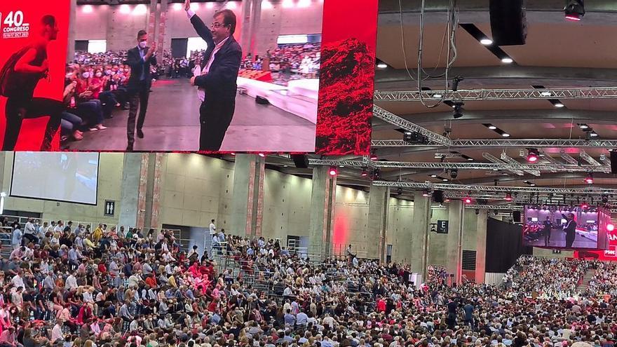Vara revalidará su liderazgo al frente del PSOE arropado por Pedro Sánchez