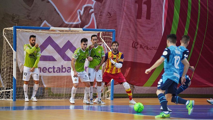 El Movistar Inter golea al Palma Futsal