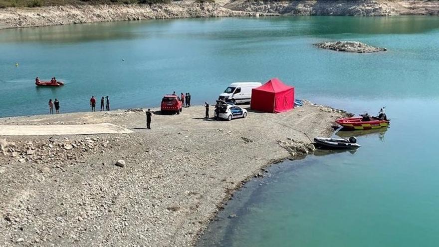 Encuentran un cadáver en un pantano de Tarragona