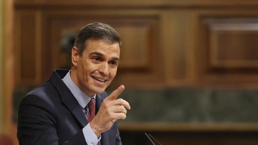 "Sánchez acusa a Abascal de hacer una ""opa hostil"" al PP"