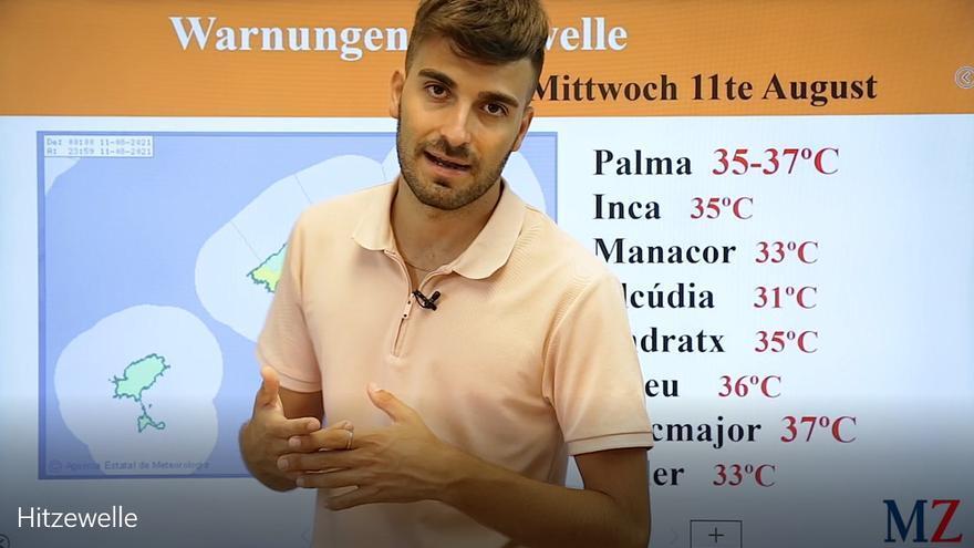 Im Video: Die MZ-Wettervorhersage zur Hitzewelle