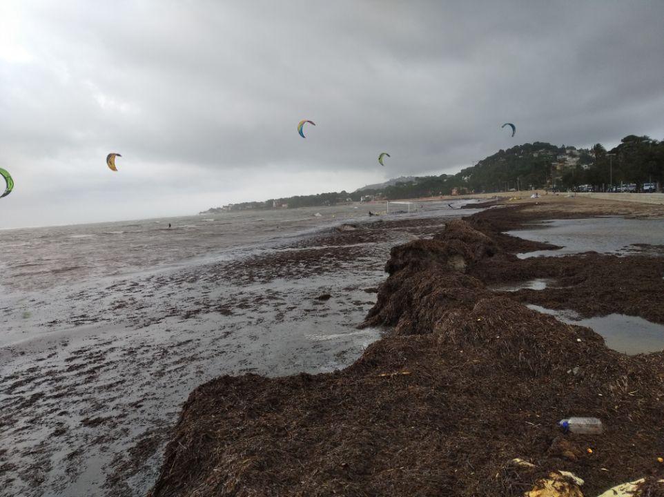 Las imágenes de la tormenta