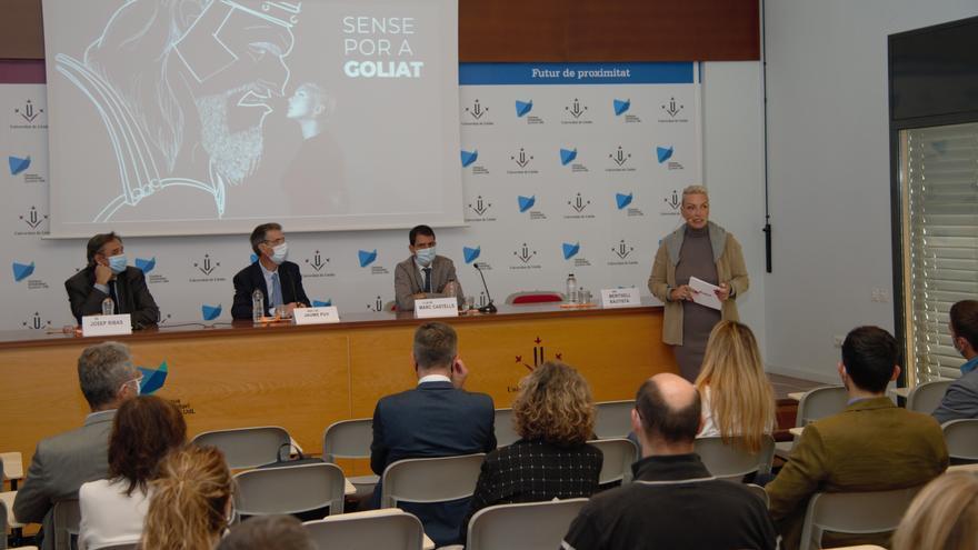 La Universitat de Lleida obre els curs a Igualada pensant en el nou edifici d'ensenyaments de salut