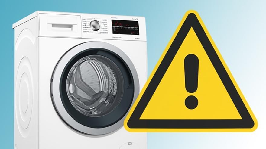La OCU advierte de un fallo de seguridad en lavadoras de varias marcas conocidas
