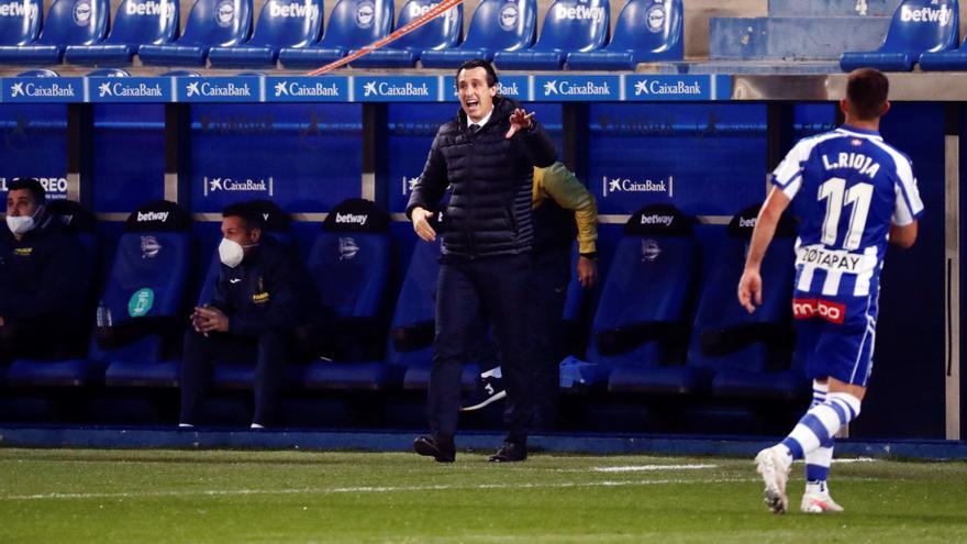 """Emery tiene claro que """"la pelea por la quinta plaza va a ser muy dura para el Villarreal"""""""