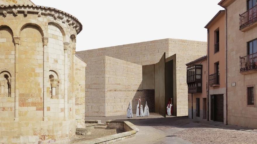 Luz verde de los técnicos de Zamora al proyecto del futuro Museo de Semana Santa