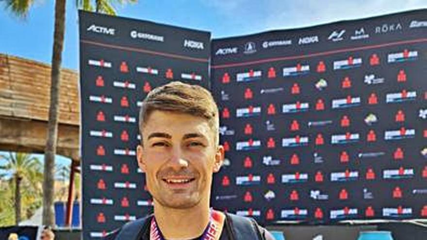 Juan Fondevila, en el Ironman de Mallorca