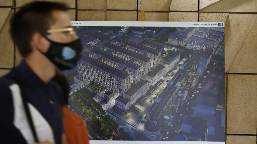 Presentación del anteproyecto del tercer hospital de Málaga