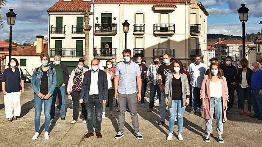 Néstor Rego invita aos veciños de Vila de Cruces a participar nas mobilizacións do Día da Patria Galega