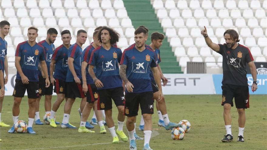 La sub-21 quiere dar un paso de gigante para la Eurocopa