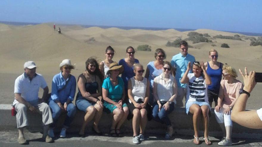 40 agentes de viajes alemanes conocen de primera mano Gran Canaria para promocionar sus encantos