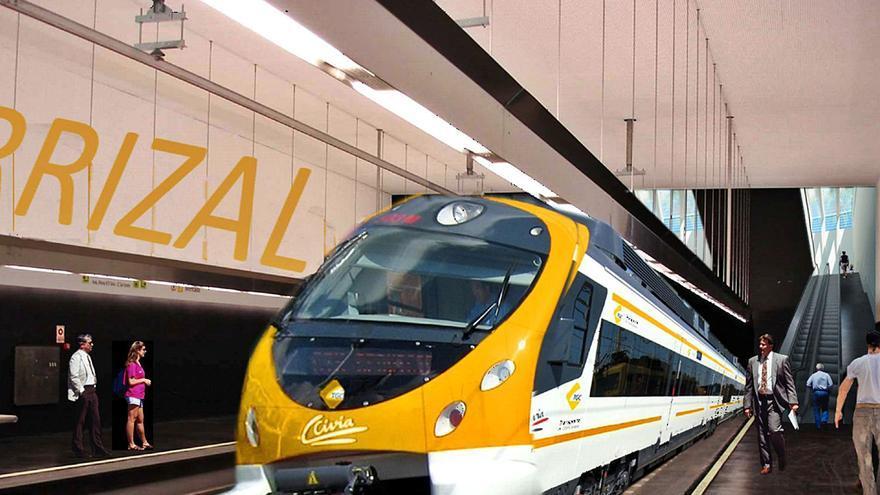 El Cabildo acusa a la Universidad de atacar el tren con datos incorrectos