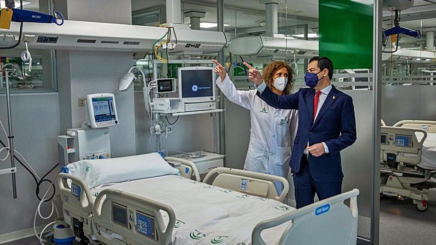 "Andalucía inaugura en Sevilla su propio ""hospital Zendal"""