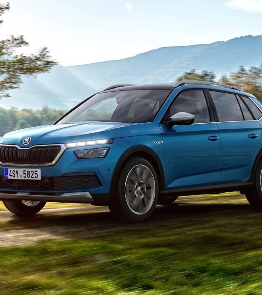 Nuevo Skoda Kamiq Scout, la versión campera del SUV compacto de la firma checa