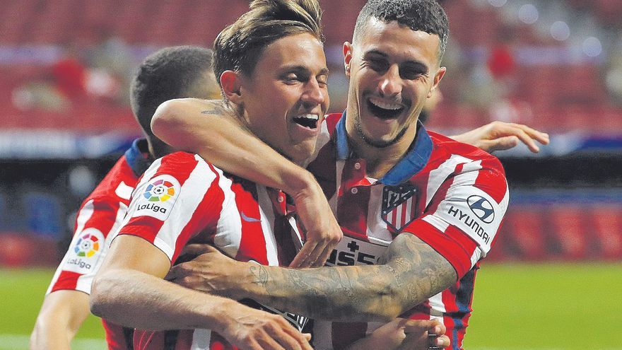Llorente reactiva al Atlético ante el Betis