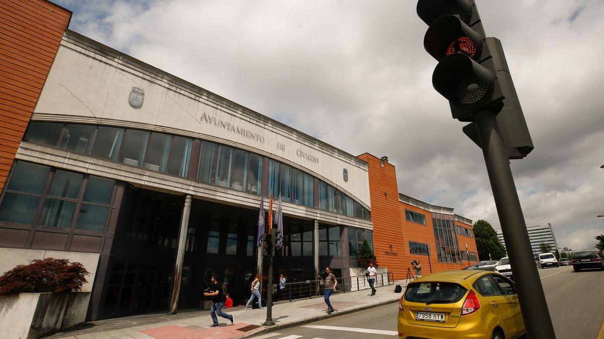 Cuartel de Rubín en Oviedo.