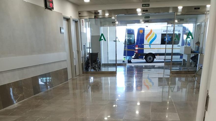 Continúa el traslado de pacientes COVID al nuevo hospital de Estepona