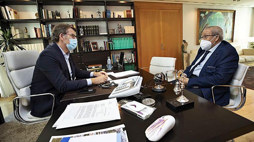 La Xunta impulsa proyectos de vivienda e infraestructuras en Cortegada y Cenlle
