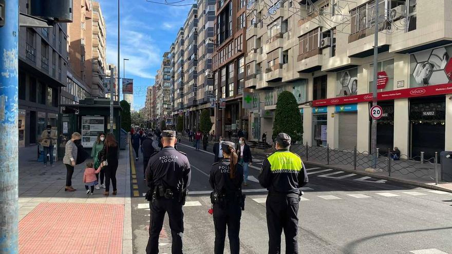 El centro de Alicante estará abierto a los peatones esta Navidad