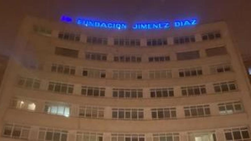 La Fundación Jiménez Díaz ya ha vacunado de Covid a 664 de sus profesionales pese al temporal