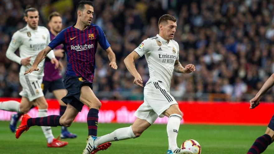 LaLiga Santander: las imágenes del Real Madrid - FC Barcelona