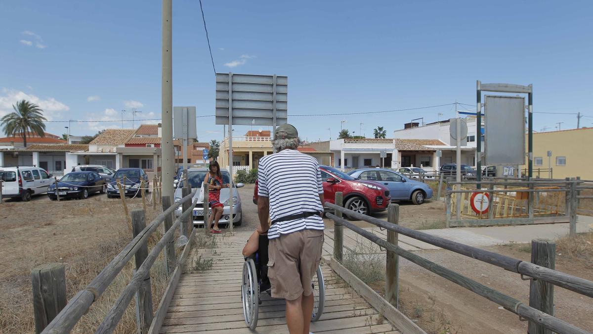 Una playa accesible de la Comunitat Valenciana