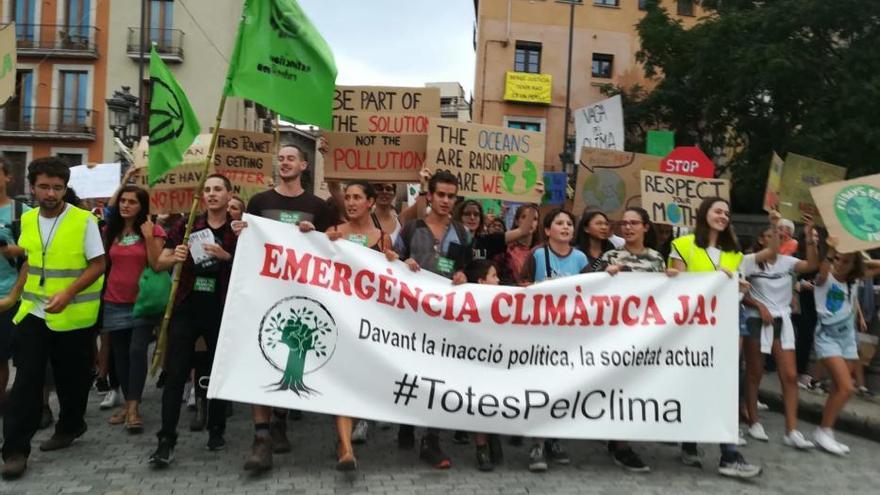 La crisi climàtica mobilitza generacions cap al canvi