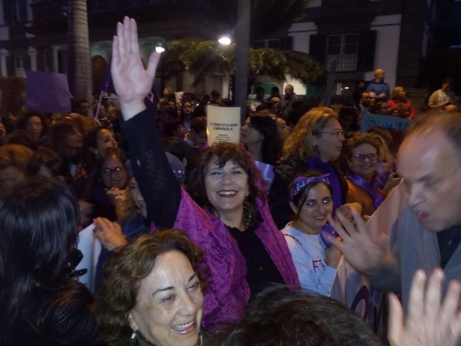 8M - Manifestación del Día de la Mujer en Las Palmas de Gran Canaria