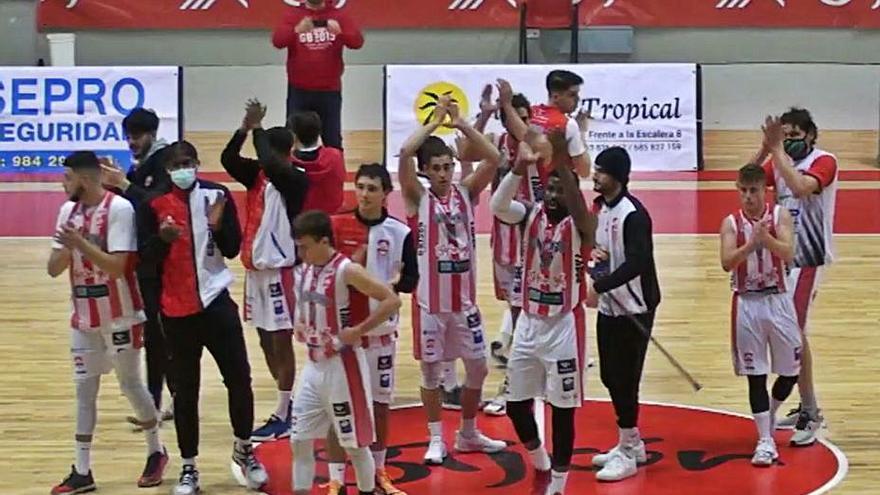 El Gijón Basket no cede en la pelea por el liderato de su grupo de la Liga Eba de baloncesto