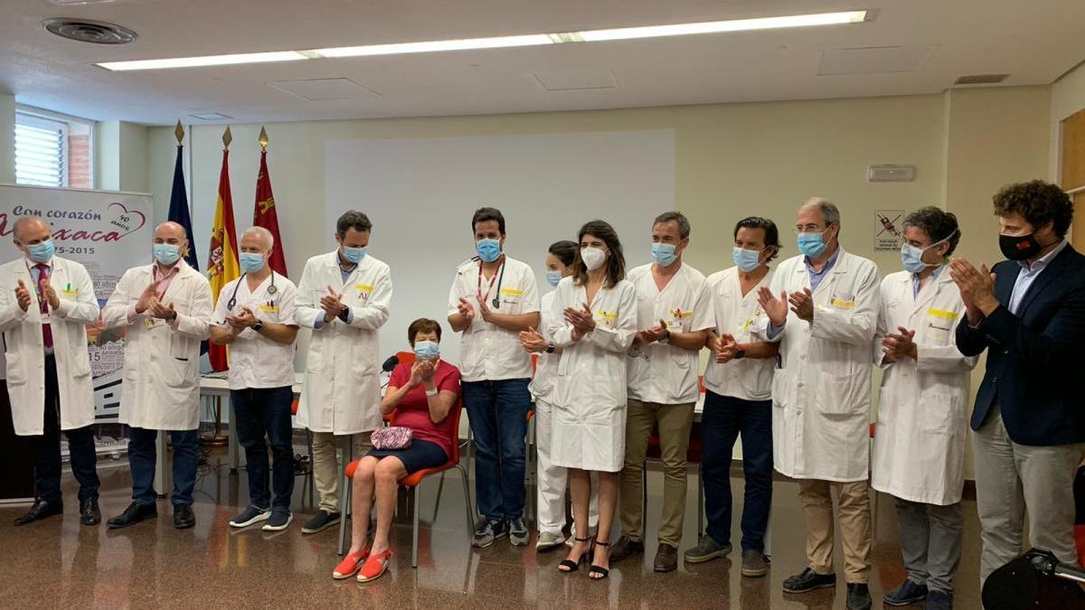 La Arrixaca hace el segundo trasplante cardíaco en parada cardiorrespiratoria de España
