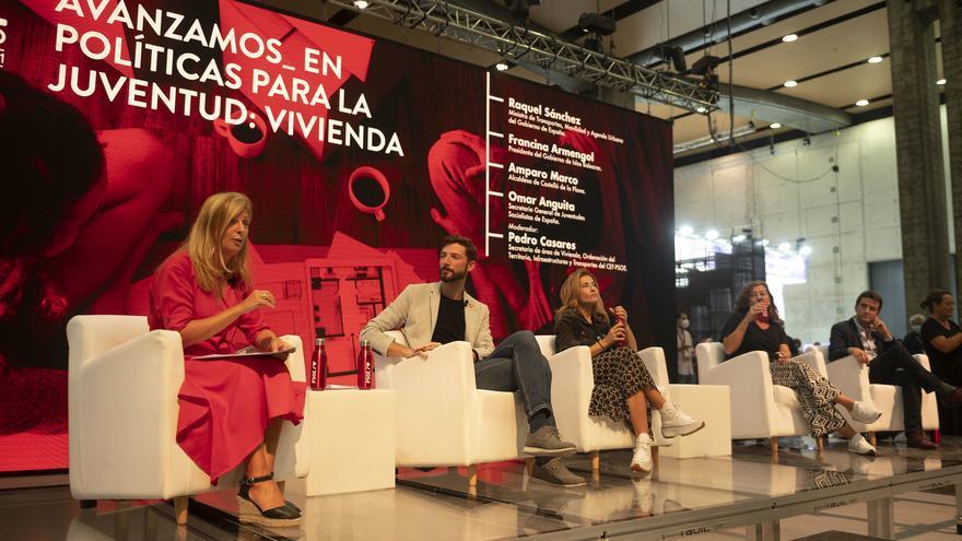 Marco alaba la apuesta por las mujeres y el municipalismo en la nueva ejecutiva del PSOE