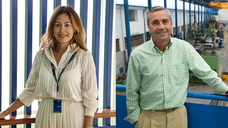 """Antonio Fernández-Escandón y Paula Rodríguez Beirán, premios """"Ingeniero del Año"""" en Asturias"""