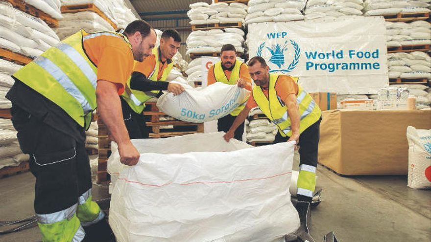 El Nobel de la Paz reconoce la labor del Programa Mundial de Alimentos
