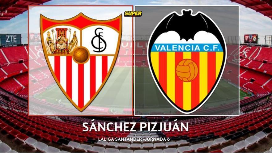 Así vivimos el Sevilla - Valencia