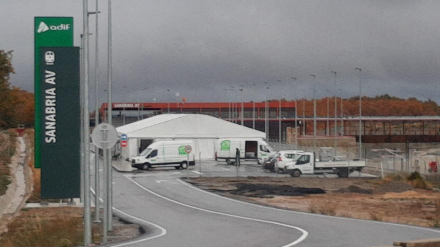 Todo a punto para la inauguración del AVE a Sanabria este lunes