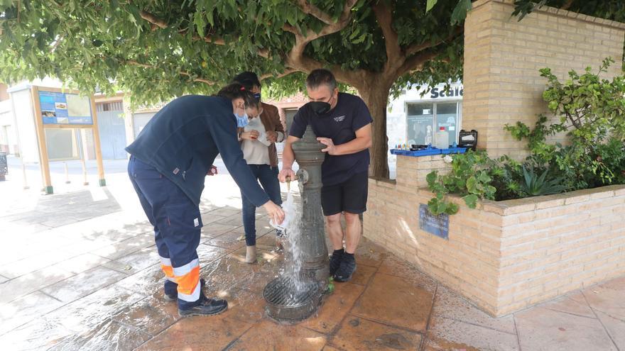 Suministro de agua potable a los vecinos de Villafranca de Ebro