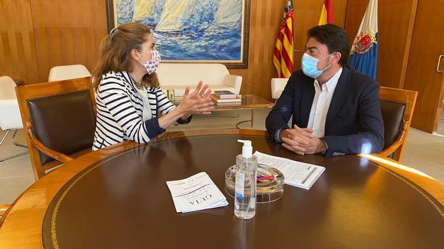 Barcala apuesta por la colaboración con la Fundación Ellis Europa de la científica Nuria Oliver