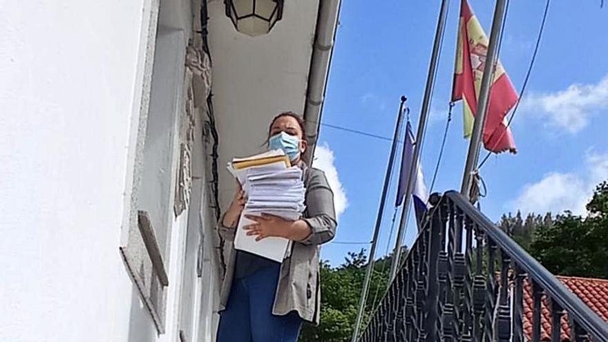 Fervenzas colapsa el registro de Aranga con alegaciones a un eólico de Monte do Gato