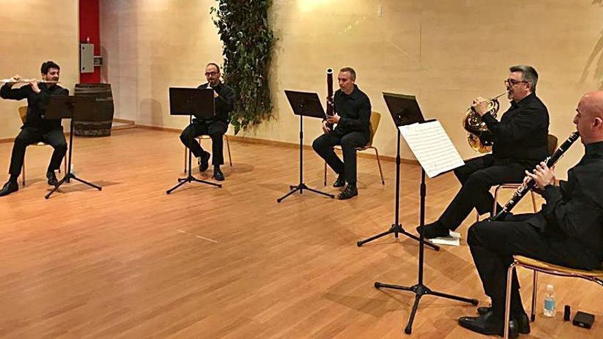Concierto del quinteto de viento Madrid Cámara